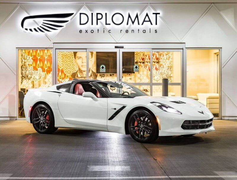 Exotic Car Rental In Las Vegas Diplomat Exotic Rentals
