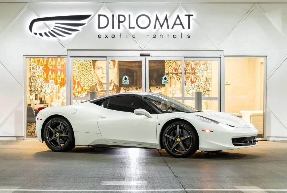 Exotic Car Rental in Las Vegas | Diplomat Exotic Rentals